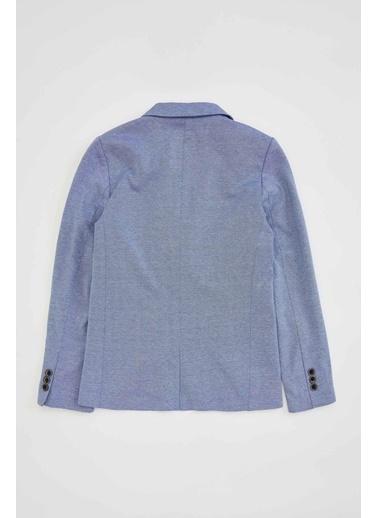 DeFacto Erkek Çocuk Blazer Ceket Mavi